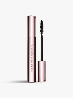 Wonder Perfect Mascara 4D by Clarins, one of the best French makeup brands.