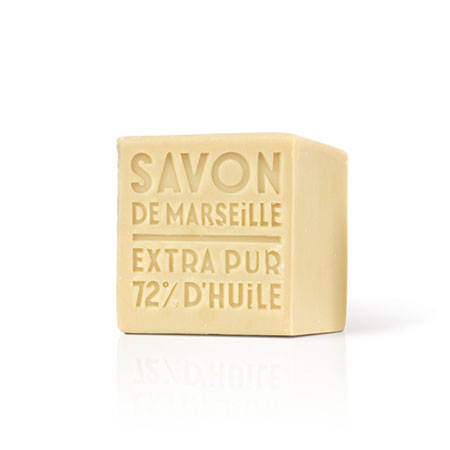 Savon de Marseille Soap Cube by Compagnie de Provence, contender for best French milled soap.