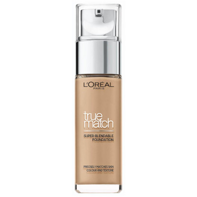 True Match Foundation by L'Oreal, one of the best French makeup brands with the best French makeup products.