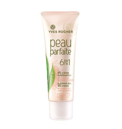BB Peau Parfaite by Yves Rocher, the best French pharmacy BB cream.