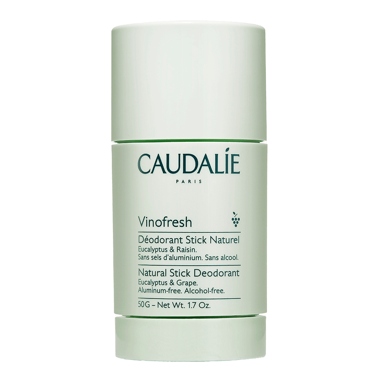 Vinofresh Natural Deodorant by Caudalie, one of the best French natural deodorants.