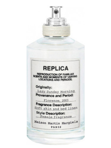Replica Lazy Sunday Morning by Maison Margiela, one of the best French perfumes.