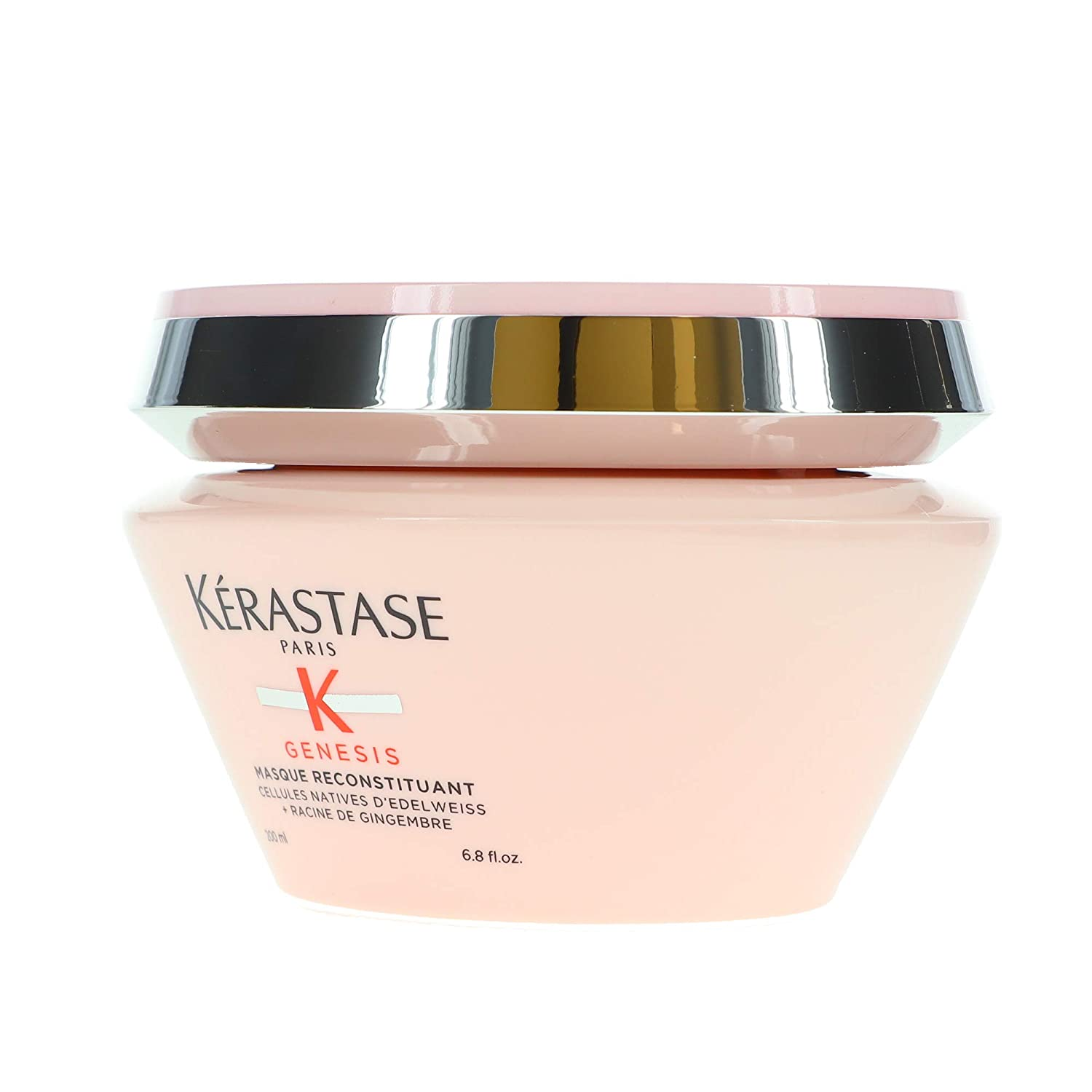 Genesis Masque Reconstituant Hair Mask by Kerastase, the best French hair mask overall.