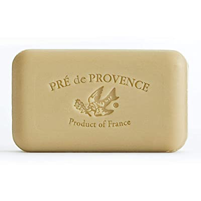Pre de Provence soap bar, fragranced with verbena, a fully natural French soap.