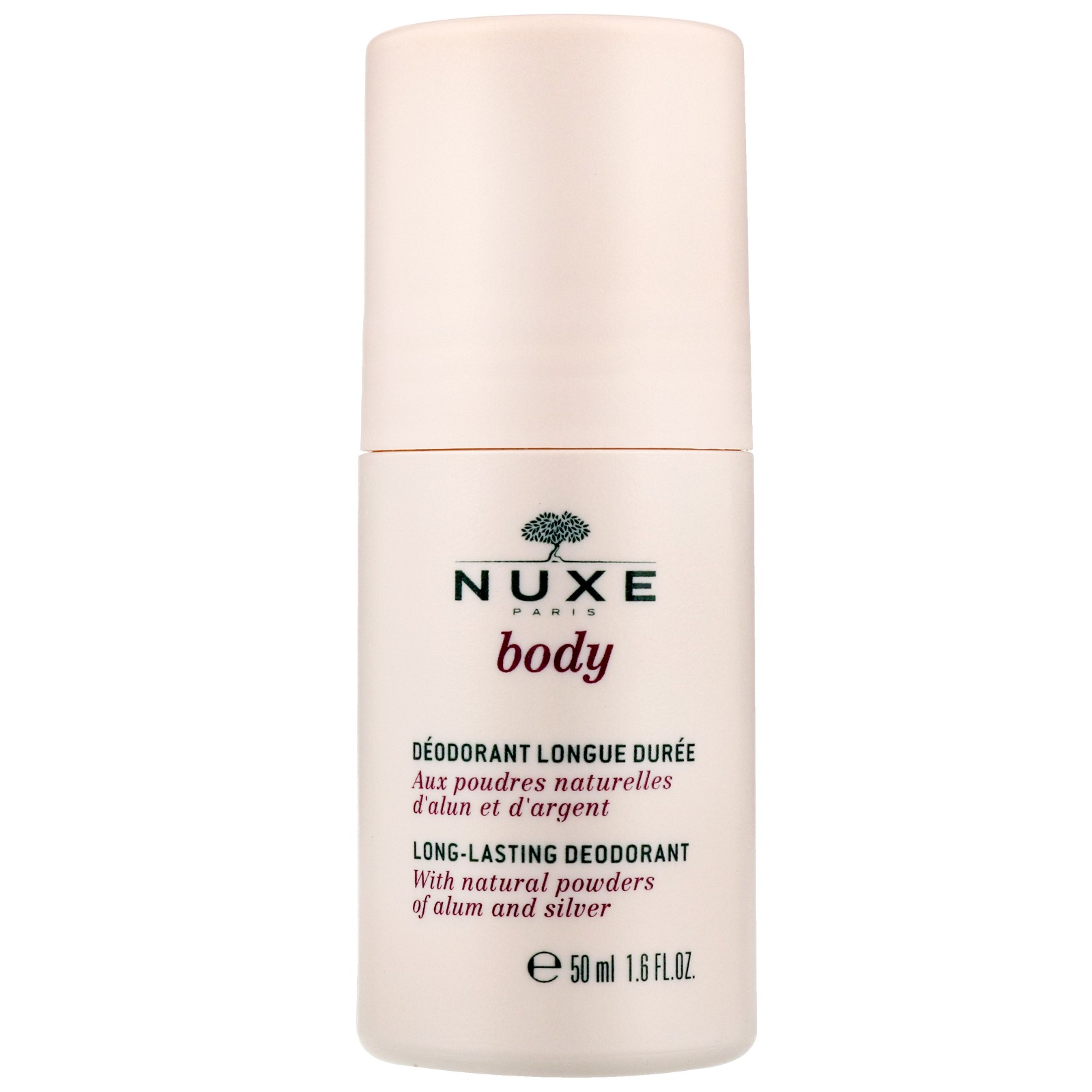 Body Long-Lasting Deodorant by Nuxe, one of the best French natural deodorants.