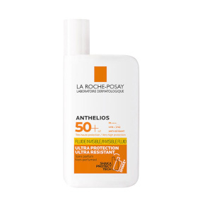 Anthelios Sunscreen by La Roche-Posay, the fourth step of the best French skincare routine in 2021, and one of the best French pharmacy sunscreens available (alongside their sister product, the tinted best French sun cream).