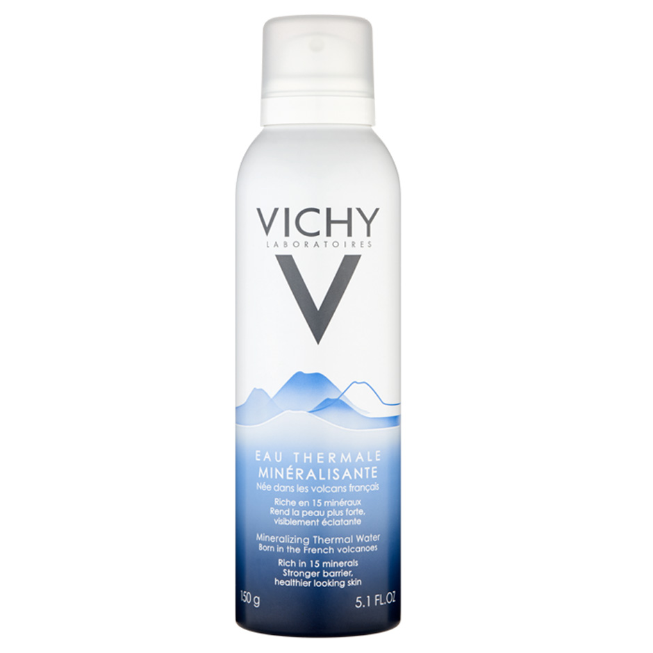 Best-selling Thermal Spring Water Spray from Vichy, the best French skincare brand for sensitive skin.