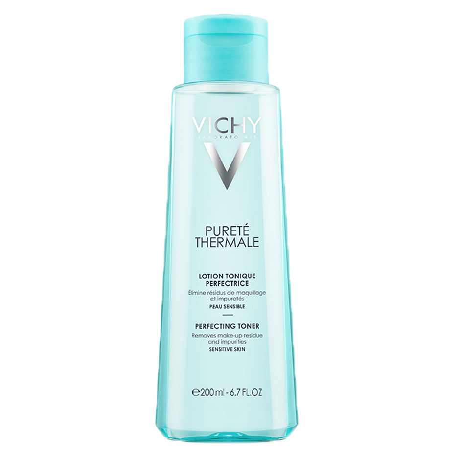 Purete Thermale Toner by Vichy, the best French toner for all skin types.