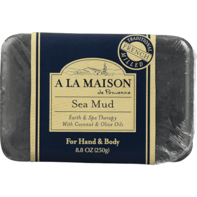 Sea Mud Bar Soap by A La Maison de Provence, another contender for best French bar soap, but for normal to problematic skin types.