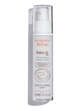 Retrinal Intensive Cream by Avene, the best retinaldehyde cream for facial skin, available in the USA.