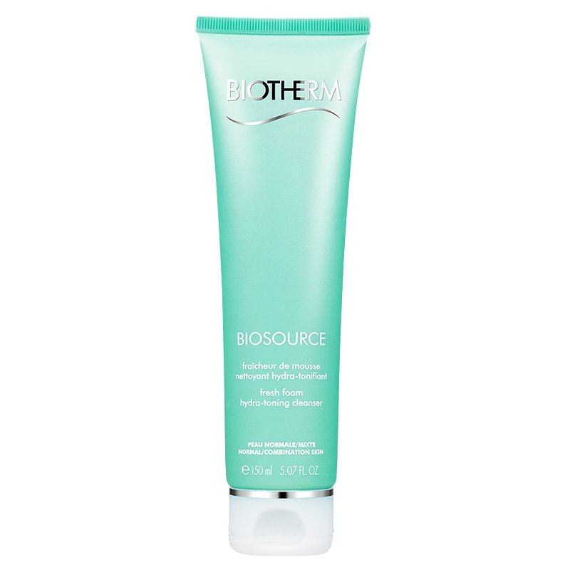 Hydra-Mineral Cleanser Toning Mousse by Biotherm, the best French face wash for normal to combination skin types.