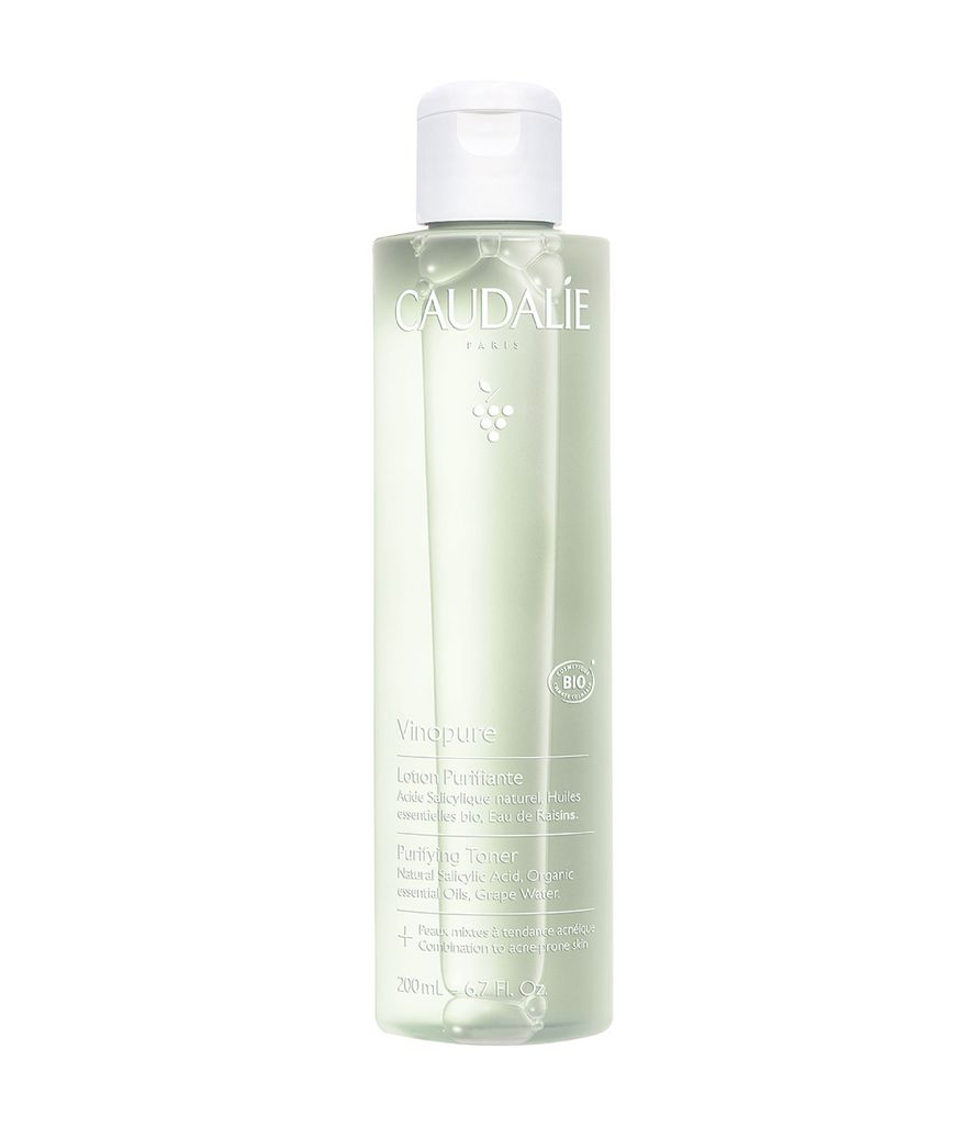 Vinopure Pore Minimizing Toner by Caudalie, one of the best French toners for skin-refining.