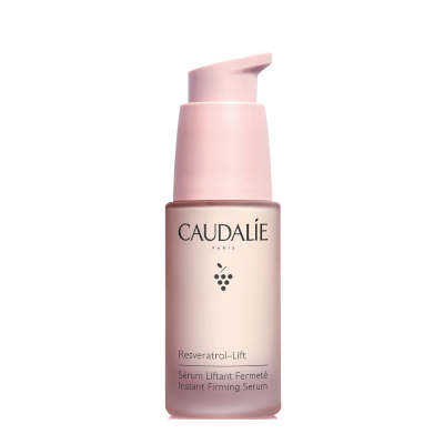Resveratrol Lift Instant Firming Serum by Caudalie, the best French firming serum