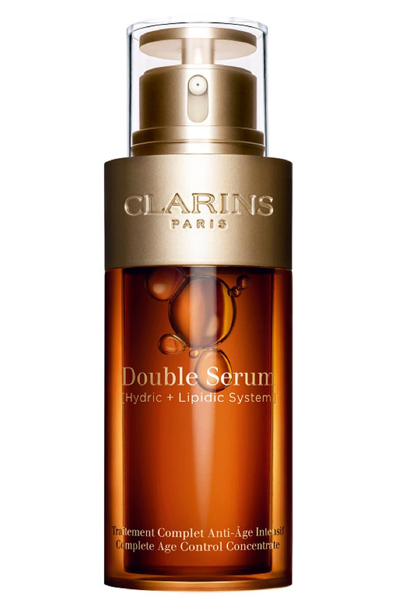 Double Serum by Clarins, one of the best French anti-ageing serums.