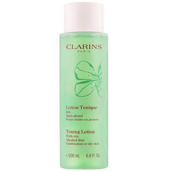 Toning Lotion with Iris by Clarins, one of the best French toners.