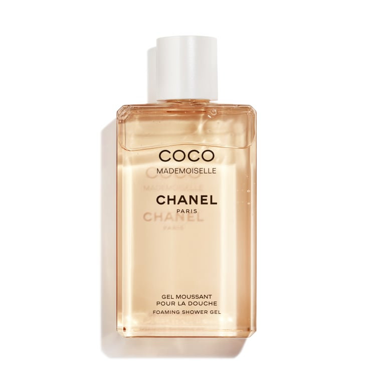 Coco Mademoiselle Foaming Shower Gel by Chanel, arguably the best French shower gel.