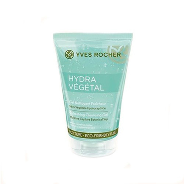 Hydra Vegetal Refreshing Gel Cleanser by Yves Rocher, one of the best French cleansers for dehydrated skin.