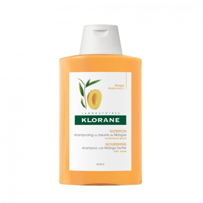 Nourishing Shampoo with Mango Butter by Klorane, the best French shampoo for dry, dehyrdated hair.