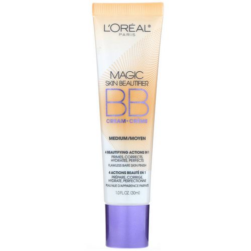 Magic Skin Beautifier BB Cream by L'Oreal, the best budget French BB cream.