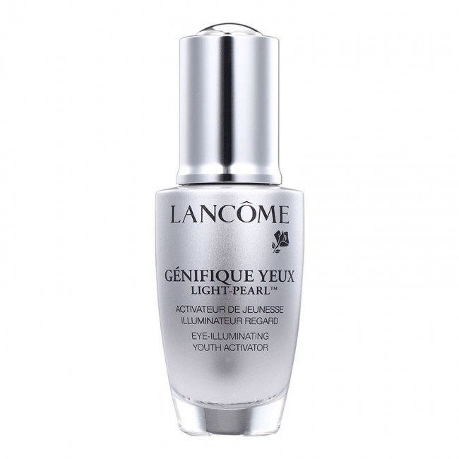 Genifique Yeux Light-Pearl Serum by Lancome, one of the best French anti-ageing eye creams.