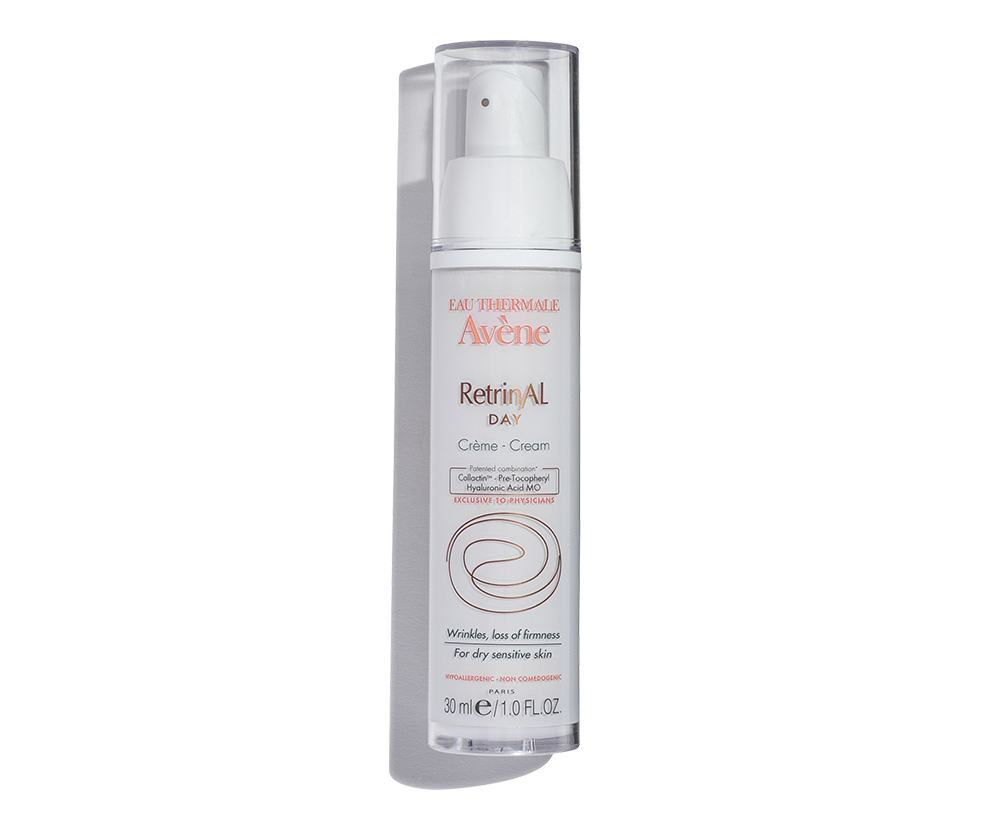 Retrinal Day Cream by Avene, the best complementary day cream to use with a retinol routine.