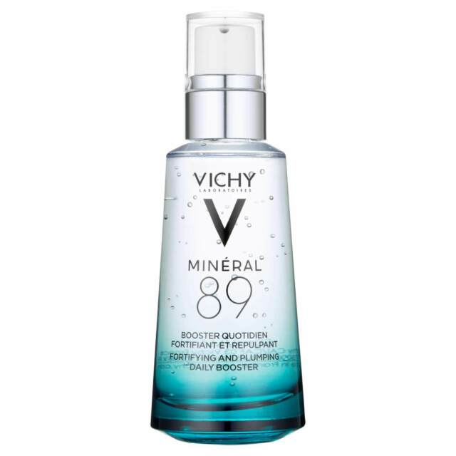Mineral 89 Hyaluronic Acid Booster by Vichy, one of the best French hydrating serums.