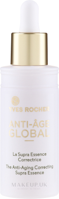 Anti-Ageing Correcting Supra Essence by Yves Rocher, one of the best French anti-ageing serums.